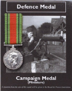 Miniature WW2 Defence Medal